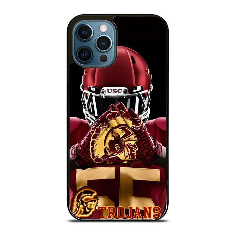 USC TROJANS FOOTBALL iPhone 12 Pro Case Cover