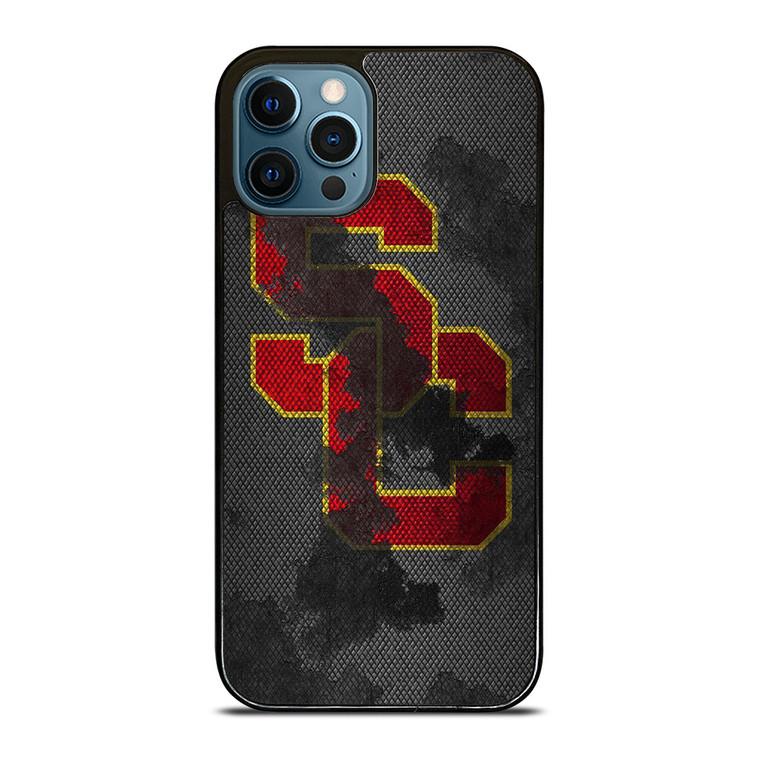 USC TROJANS RUSTY NFL iPhone 12 Pro Case Cover