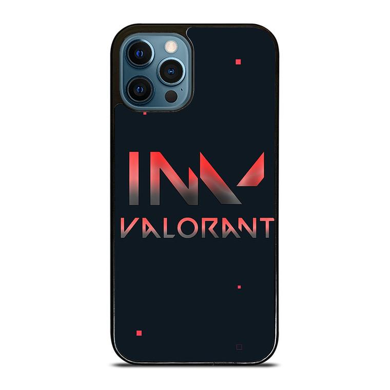 VALORANT RIOT GAMES LOGO 3 iPhone 12 Pro Case Cover