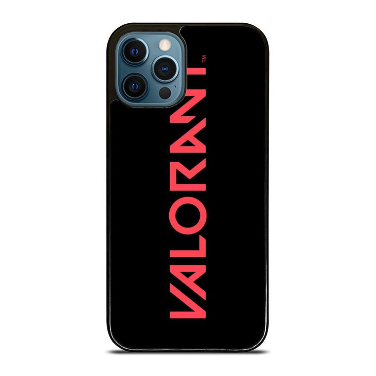 VALORANT RIOT GAMES LOGO iPhone 12 Pro Case Cover