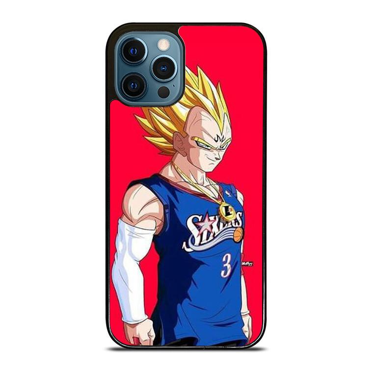 VEGETA DRAGON BALL PHILADELPHIA SIXERS iPhone 12 Pro Case Cover