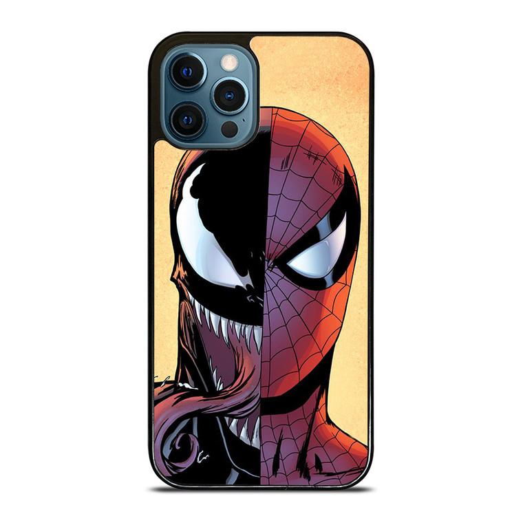 VENOM VS SPIDERMAN FACE iPhone 12 Pro Case Cover