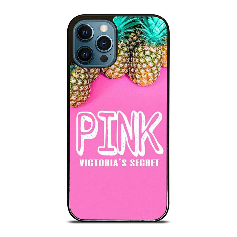 VICTORIA'S SECRET PINK PINEAPPLE iPhone 12 Pro Case Cover