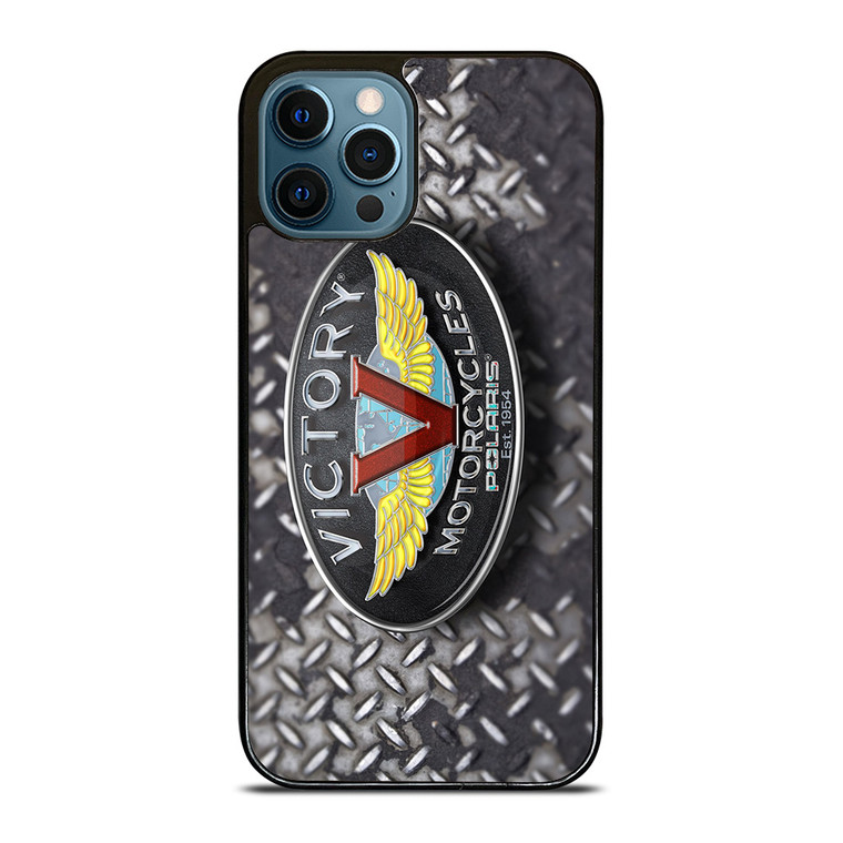 VICTORY MOTORCYCLES EMBLEM iPhone 12 Pro Case Cover