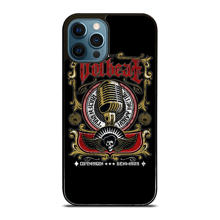 VOLBEAT HEAVY METAL NEW LOGO iPhone 12 Pro Case Cover
