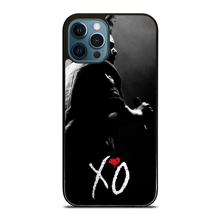 XO THE WEEKND LOGO BLACK WHITE iPhone 12 Pro Case Cover