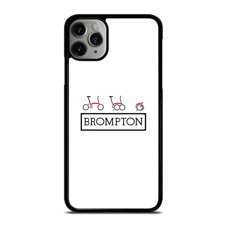 BROMPTON FOLDED BIKE LOGO 2 iPhone 11 Pro Max Case Cover