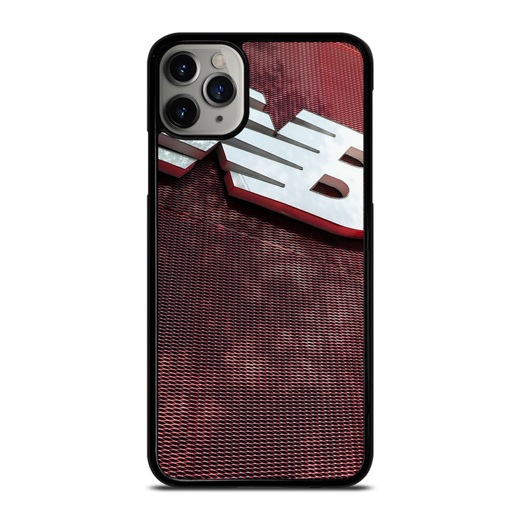 NEW BALANCE NB RED METAL iPhone 11 Pro Max Case Cover