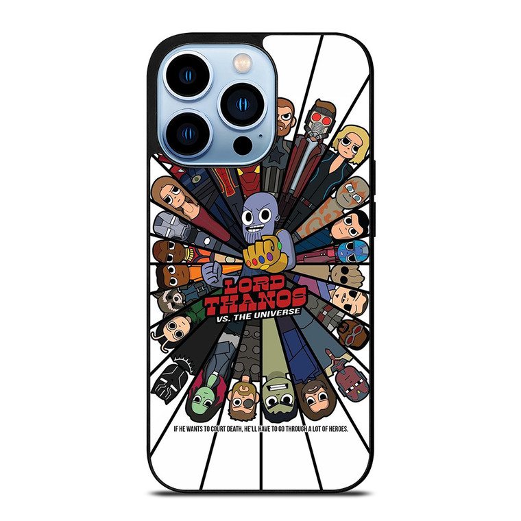AVENGERS INFINITY WARS VS THANOS iPhone 13 Pro Max Case Cover