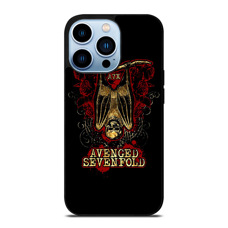 AX7 AVENGED SEVENFOLD iPhone 13 Pro Max Case Cover
