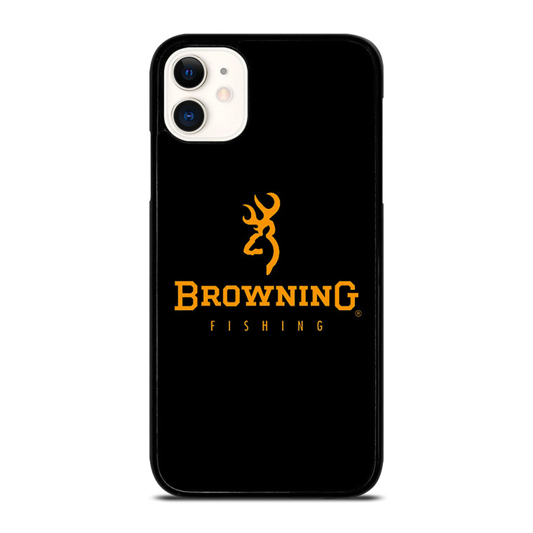BROWNING FISHING LOGO iPhone 11 Case Cover