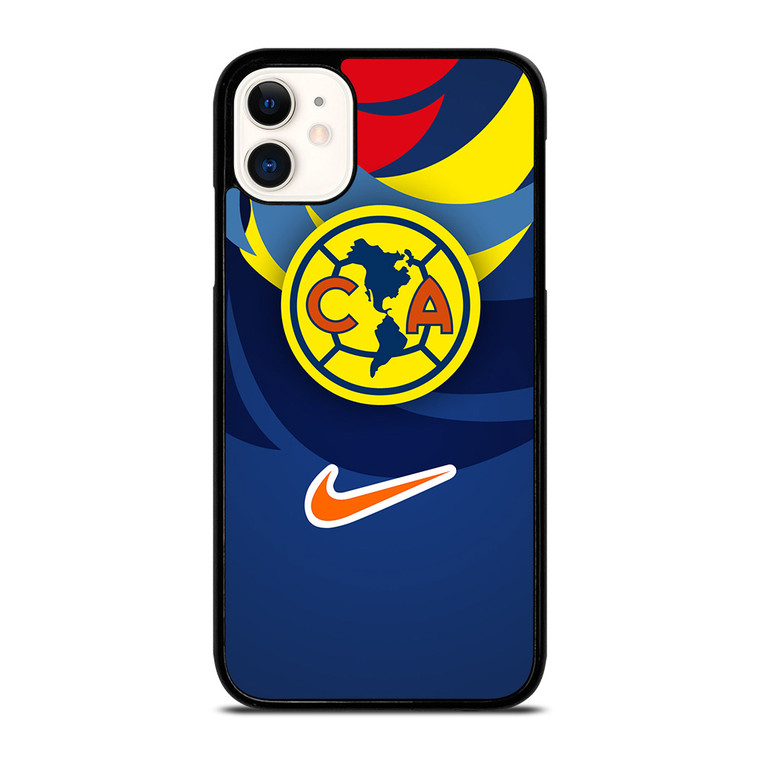 CLUB AMERICA EL MAS GRANDE Soccer Team iPhone 11 Case Cover