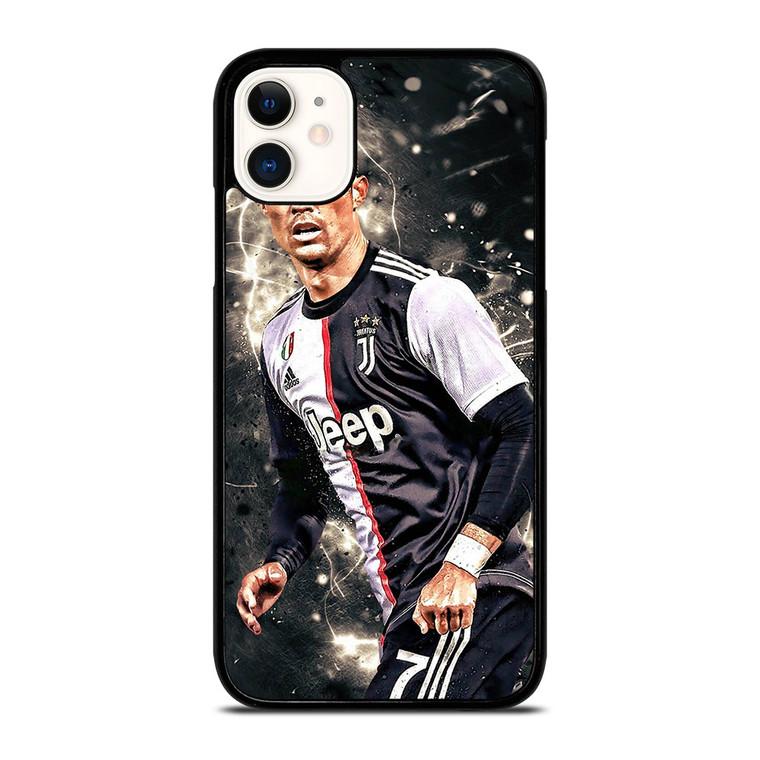 CRISTIANO RONALDO JUVENTUS ART iPhone 11 Case Cover