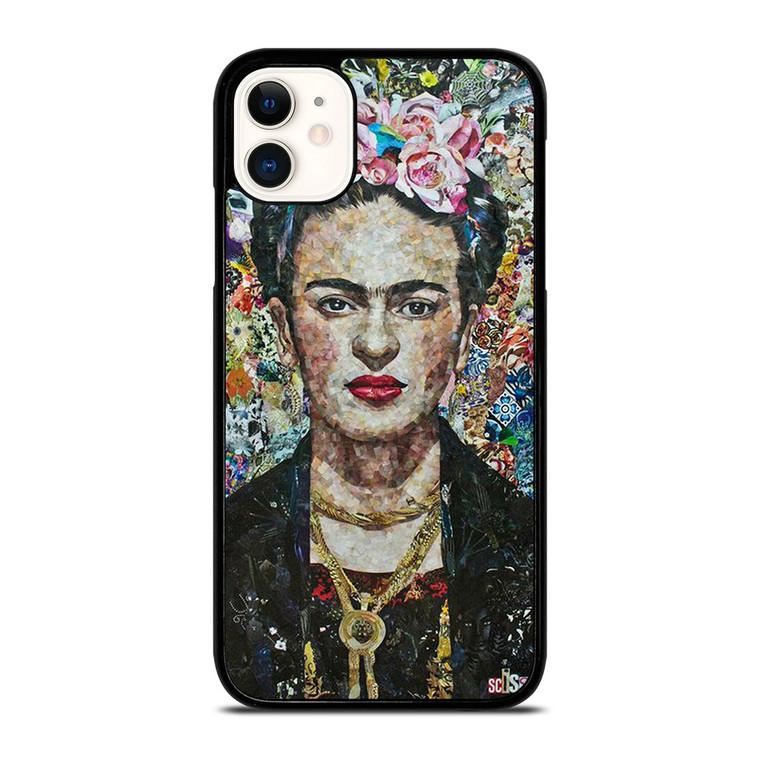 FRIDA KAHLO MOZAIC iPhone 11 Case Cover