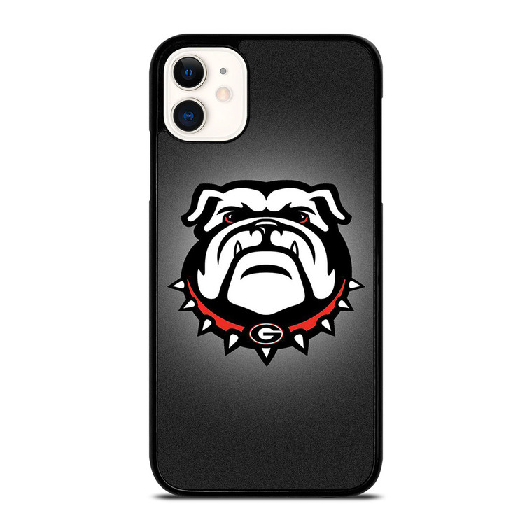 GEORGIA BULLDOGS UGA LOGO iPhone 11 Case Cover