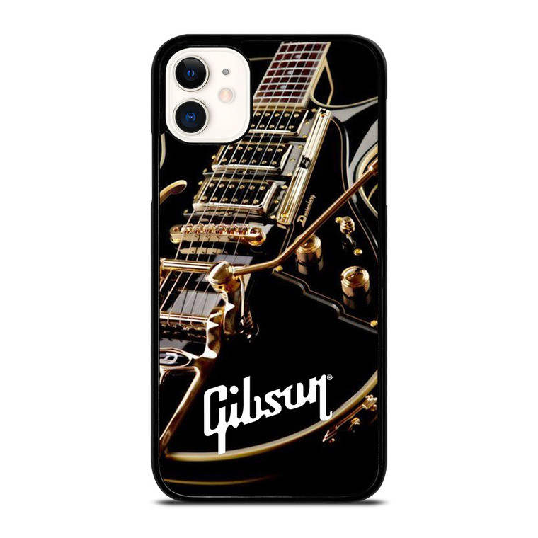 GIBSON GUITAR GOLD iPhone 11 Case Cover