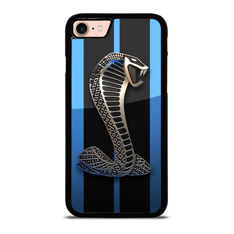 MUSTANG FORD SHELBY COBRA BLUE iPhone 8 Case Cover