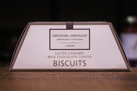 Salted Caramel Biscuits