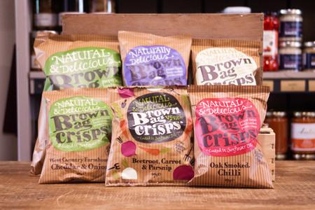 Brown Bag Crisps - Small Bag