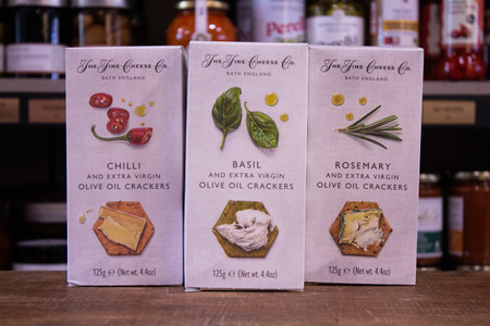 Fine Cheese Co. Crackers for Artisan Cheese: Godalming Guildford, Surrey