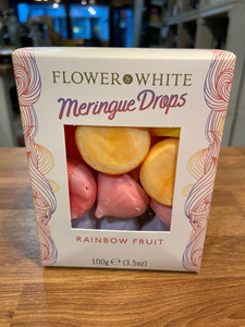 Meringue Drops - Flower White