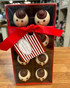 Natalies Chocolate Snowmen
