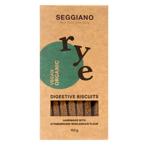 Vegan Rye Digestive Biscuits