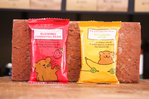 Bear biscuits snack