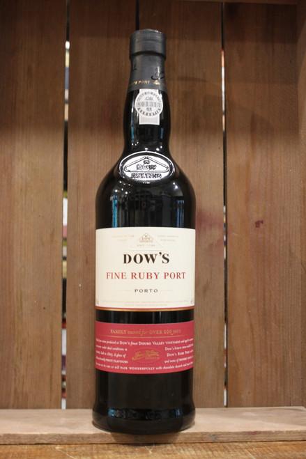 Dows Ruby Port - single bottle
