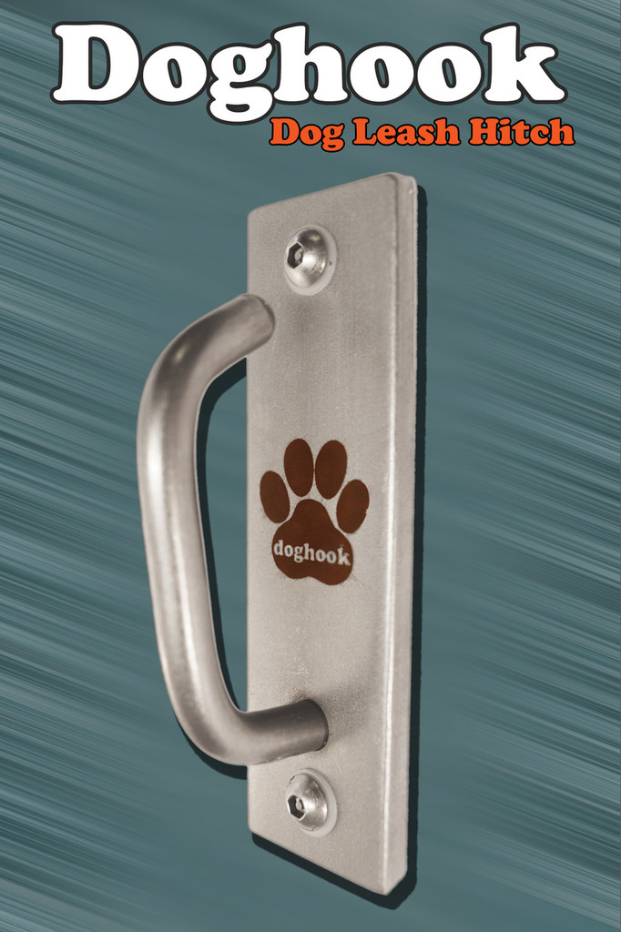 Doghook Compact - Stainless with Masonry Hardware Kit