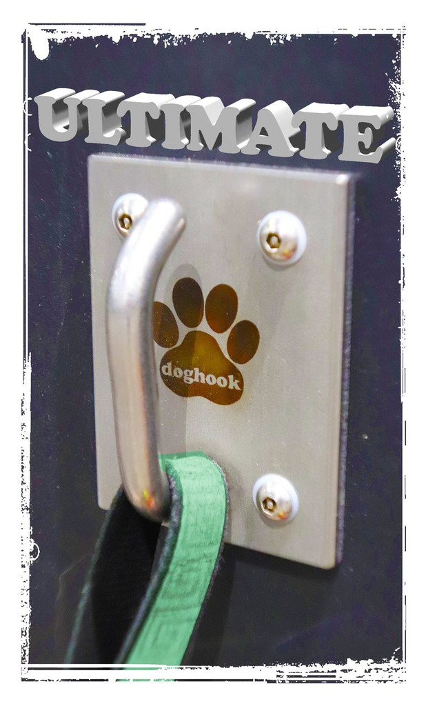 Doghook Ultimate - Stainless with Masonry Hardware Kit