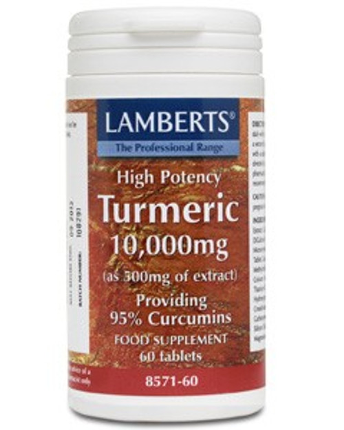 Turmeric tablets food supplement