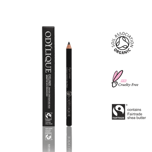 Organic Black Eye Liner Pencil