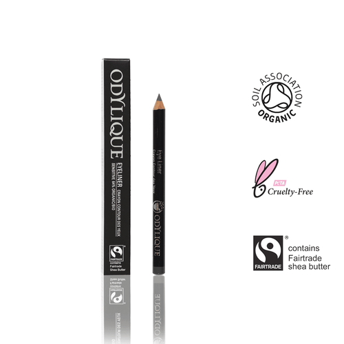 Grey Eye Liner Made with Organic Extracts and Mineral Colour