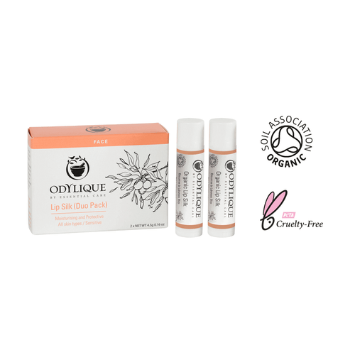 Organic Lip Balm Double Pack
