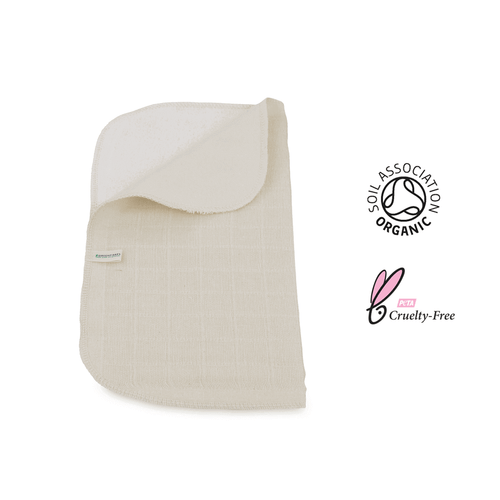 100% Organic Cotton Face Cloth