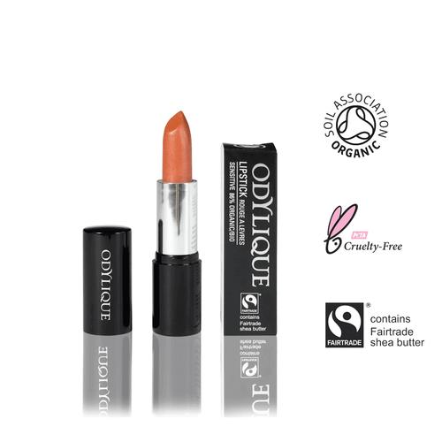 Organic Orange Lipstick with Fairtrade Shea