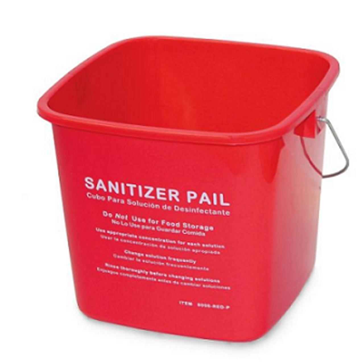 Sanitizing Bucket 3 Qt.