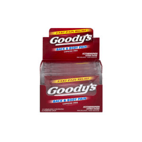 Goody's Red Back and Body Pain