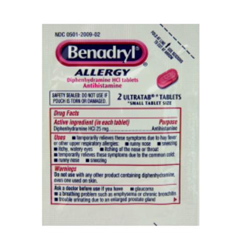 Benadryl Allergy Tablets