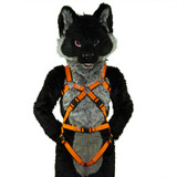 Full X-Harness with Leg-Straps EXTENDED [2-colored]