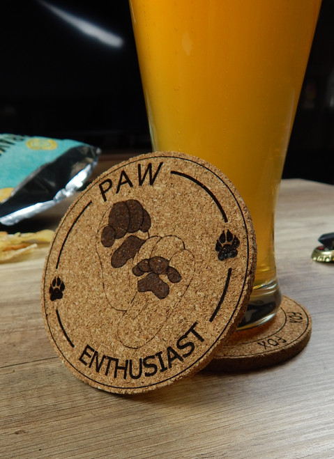 Coasters/Beermats - Furry Designs