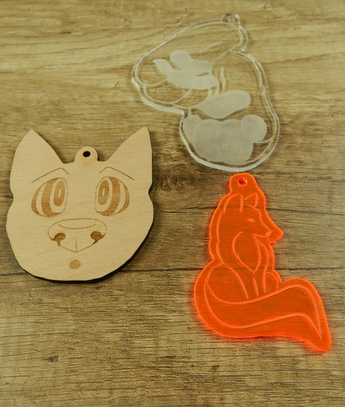 Collar Tag /  Accessoire - Shape Designs