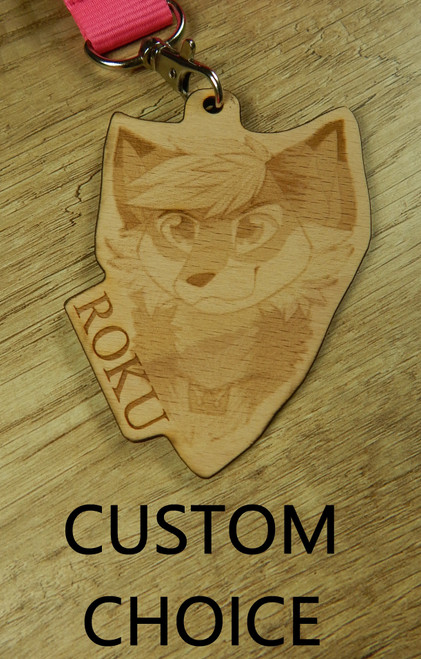 Collar Tag / Badge CUSTOM Choice
