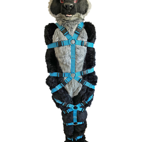 Full Body Tie-Up Harness (Crotch-Free Version)