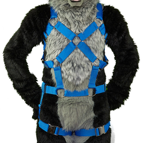 Full X-Chest Harness with Leg-Straps (Detachable) VER.2