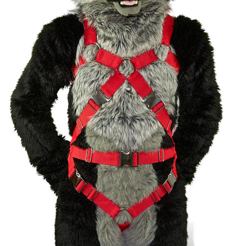 Full X-Harness with Crotch-Straps EXTENDED