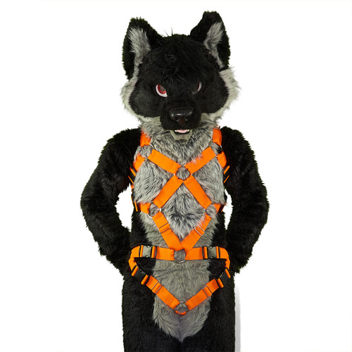 Full X-Chest Harness with Crotch-Straps