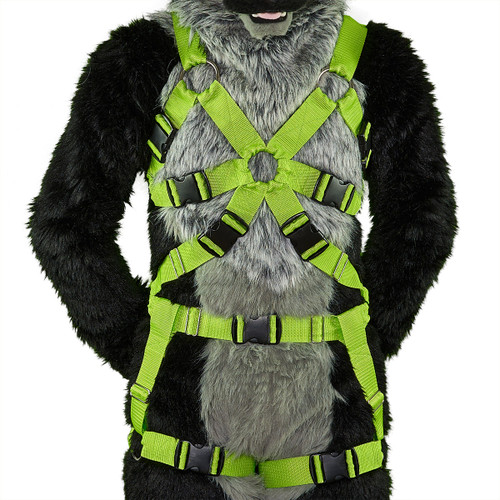 Full TRI-Chest Harness with Leg-Straps (Detachable)