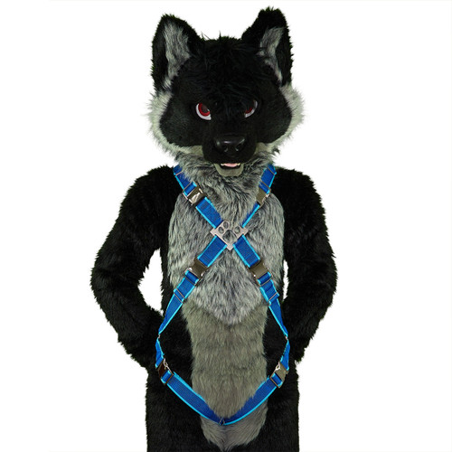 X-Harness with Leg-Straps [2-colored]